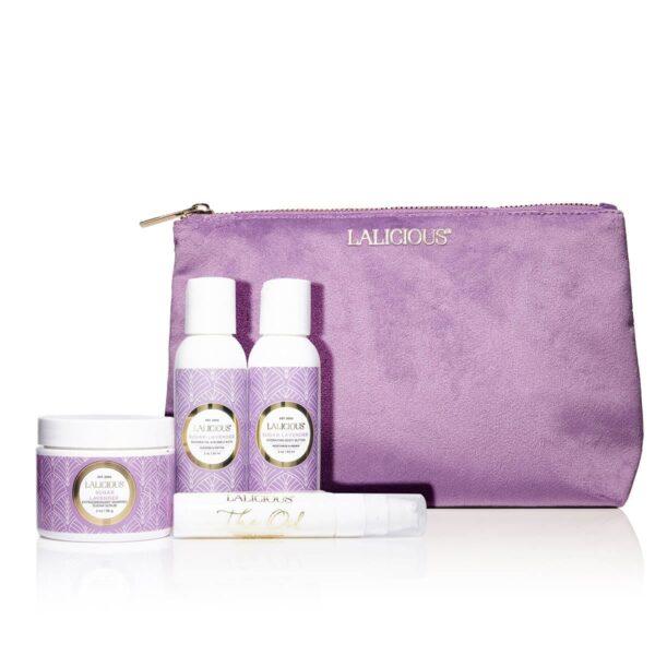 Sugar Lavender Travel Set